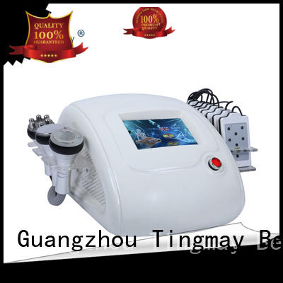 Tingmay Brand machine fat removal cavitation rf vacuum slimming machine slimming acoustic