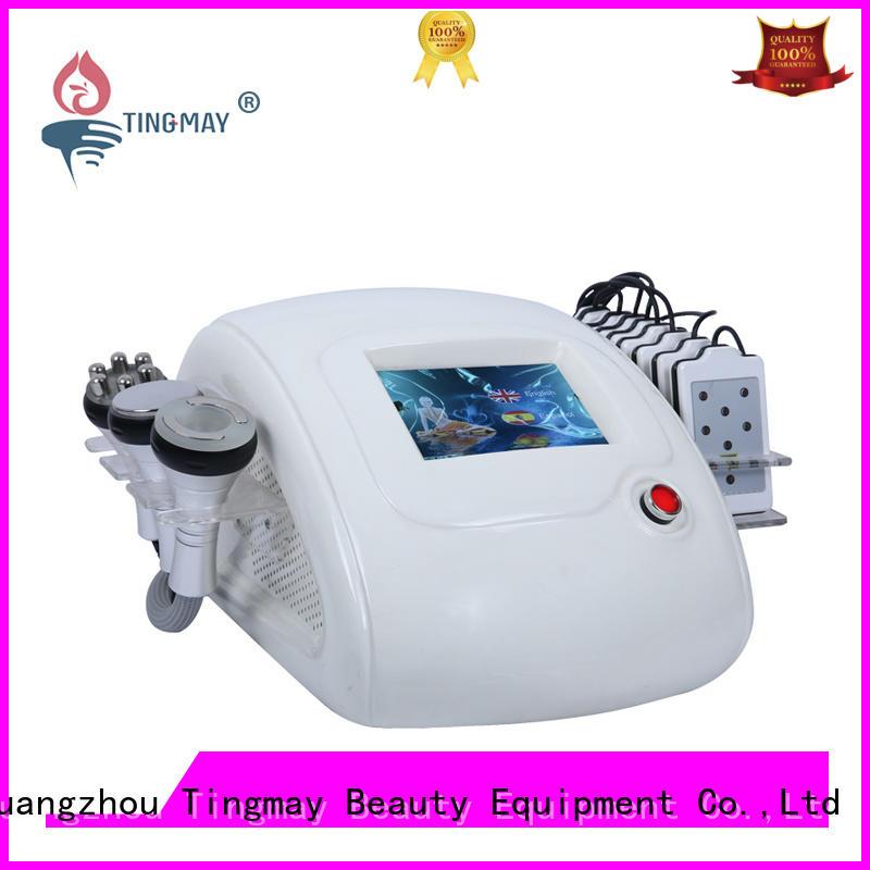 ultrasonic liposuction cavitation machine fat cavitation rf vacuum slimming machine body Tingmay