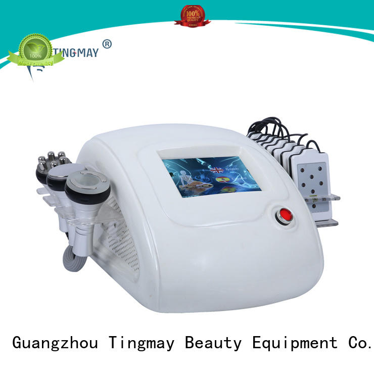 ultrasonic liposuction cavitation machine fat acoustic cavitation rf vacuum slimming machine Tingmay Brand