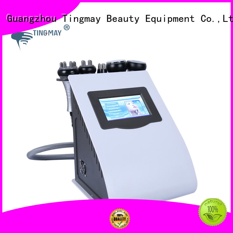 Tingmay cavitation rf vacuum slimming machine 40K hz slimming face body