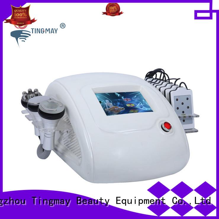 ultrasonic liposuction cavitation machine face slimming cavitation rf vacuum slimming machine Tingmay Brand