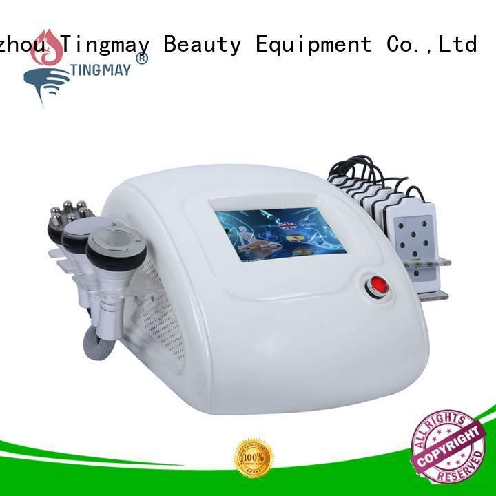 Hot ultrasonic liposuction cavitation machine machine cavitation rf vacuum slimming machine body Tingmay