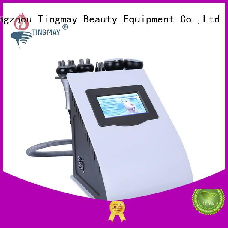 vacuum cavitation face Tingmay cavitation rf vacuum slimming machine