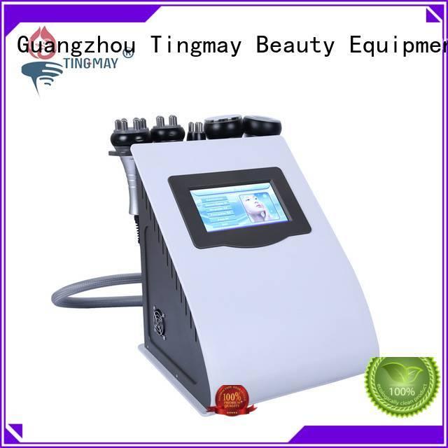 Quality ultrasonic liposuction cavitation machine Tingmay Brand rf cavitation rf vacuum slimming machine