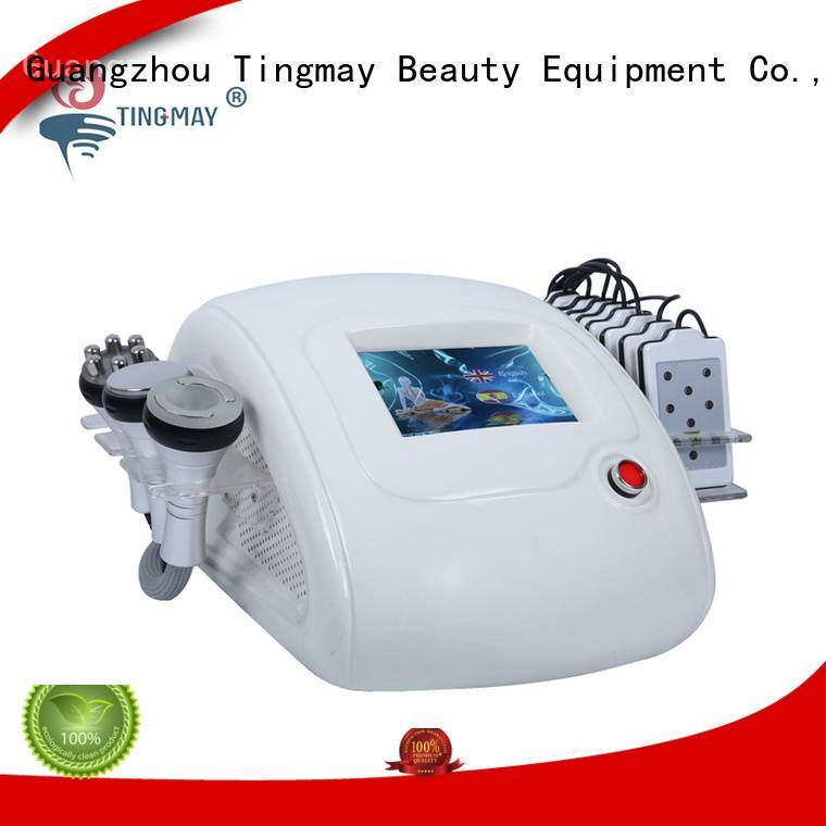 ultrasonic liposuction cavitation machine fat removal cavitation rf vacuum slimming machine vacuum Tingmay
