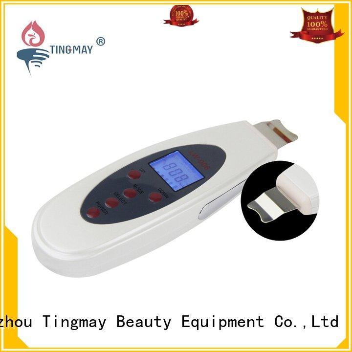 Hot ultrasonic skin scrubber spatula dermaroller ultrasonic skin scrubber product Tingmay