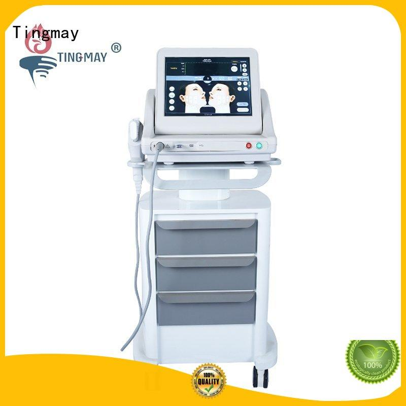 Tingmay focused ultrasonic cavitation before and after ultrasound for woman