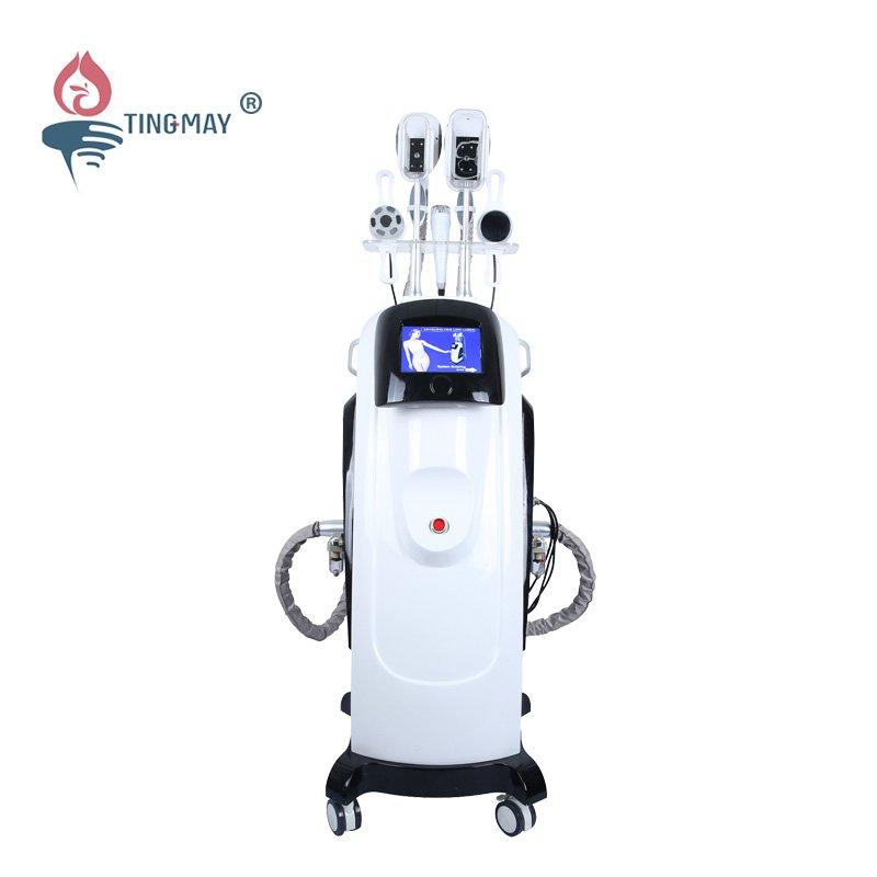 4 in 1 Cryolipolisis RF Cavitation Lipo Laser Machine TM-918B