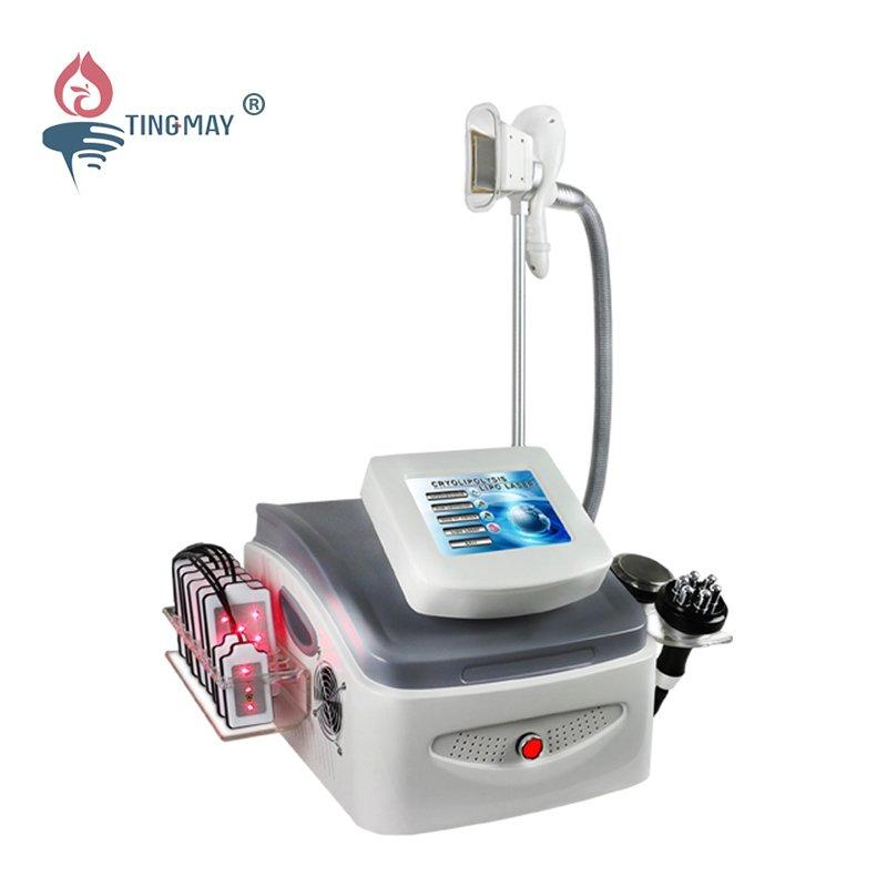Professional 4 in 1 cavitation Lipolaser RF Fat Freezing cryolipolysis slimming machine