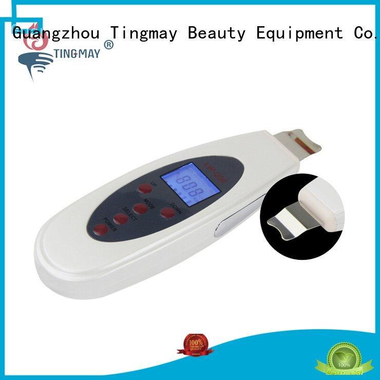 facial facial portable Tingmay ultrasonic skin scrubber spatula