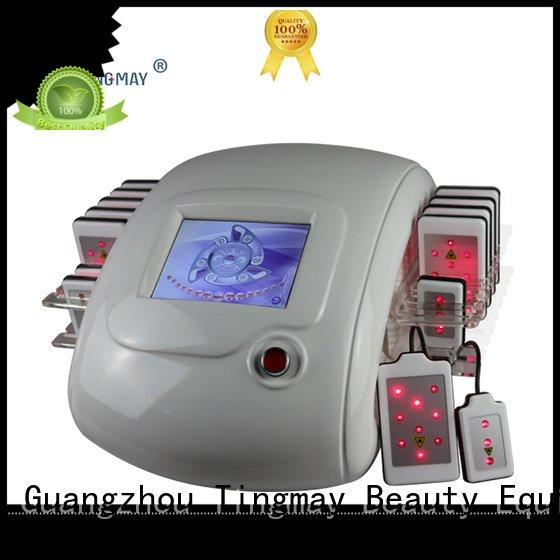 Tingmay fda approved laser lipo machines cavitation fast lipo laser