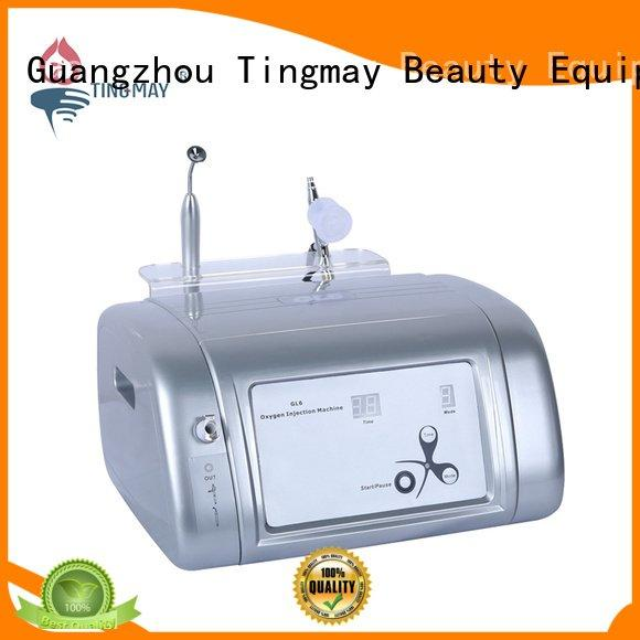 Quality oxygen infusion skin care beauty machine Tingmay Brand butt oxygen infusion facial machine