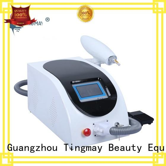 Tingmay best selling laser tattoo removal machine price manufacturer for man
