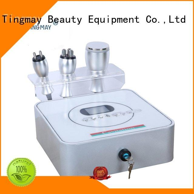 40K hz machine cells rf Tingmay cavitation rf vacuum slimming machine