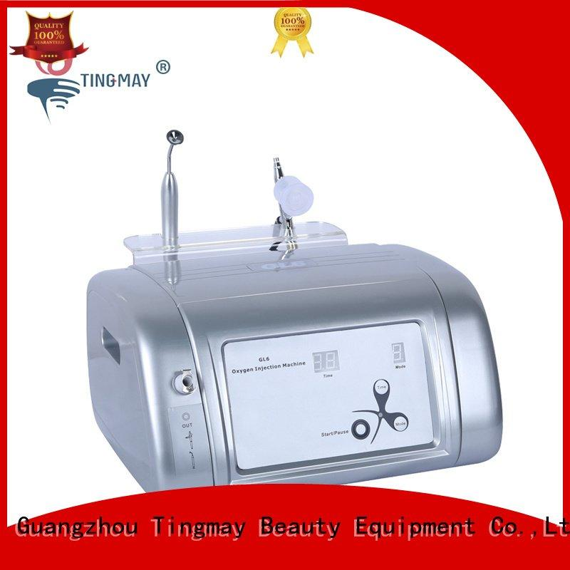 Tingmay screen vacuum oxygen infusion facial machine oxygen wrinkle