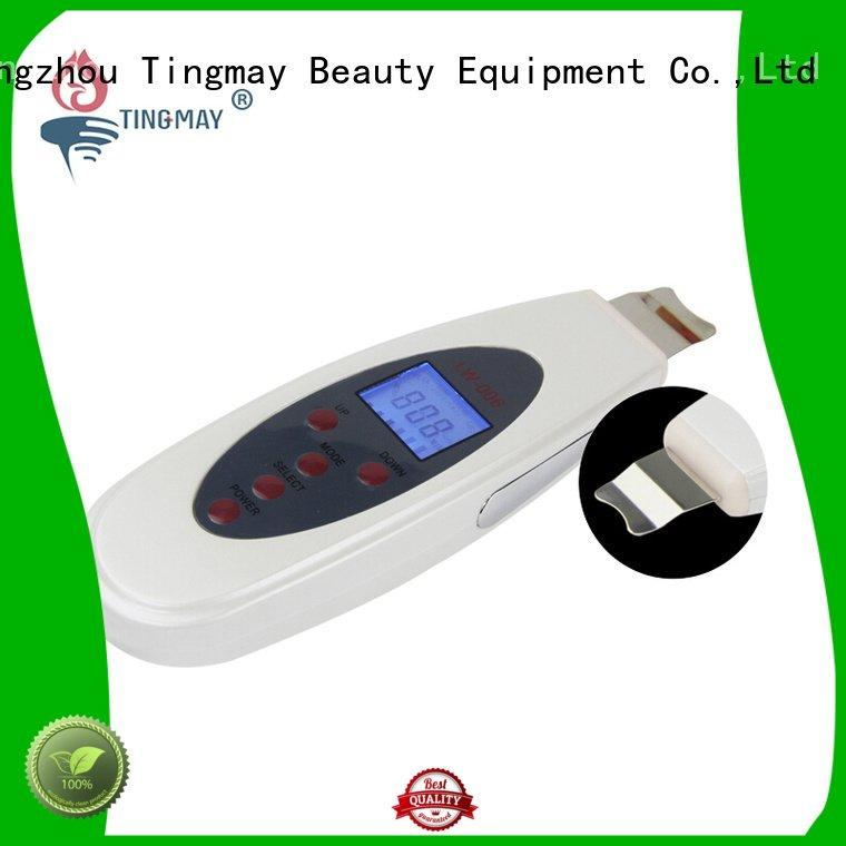Tingmay Brand scrubber product care ultrasonic skin scrubber spatula