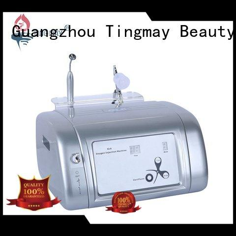 Tingmay oxygen infusion skin care beauty machine wrinkle galvanic enlargement