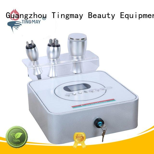 Tingmay Brand 40K hz ultrasonic liposuction cavitation machine rf fat removal
