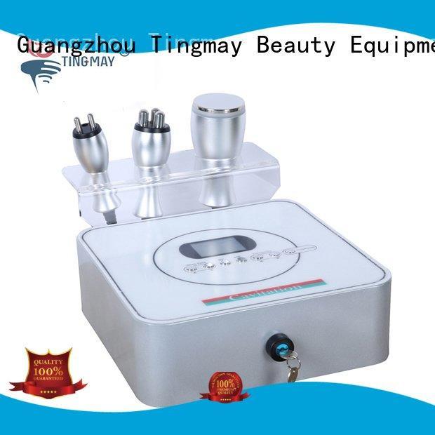 cavitation rf machine face Tingmay cavitation rf vacuum slimming machine