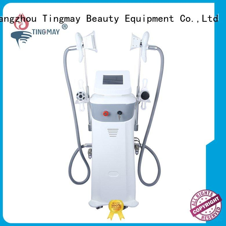 care vertical rf Tingmay body massage machine for weight loss