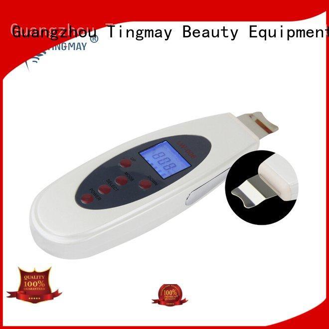 Tingmay dermaroller care machinemicro ultrasonic skin scrubber spatula tmroller