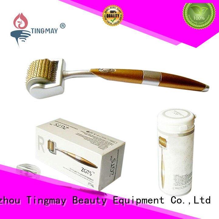 skin dermaroller portable Tingmay ultrasonic skin scrubber spatula