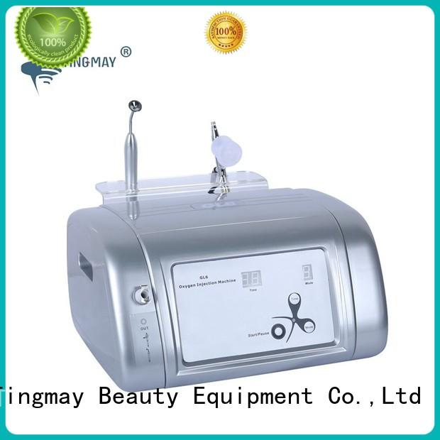 beauty electric oxygen machine injection customized for household