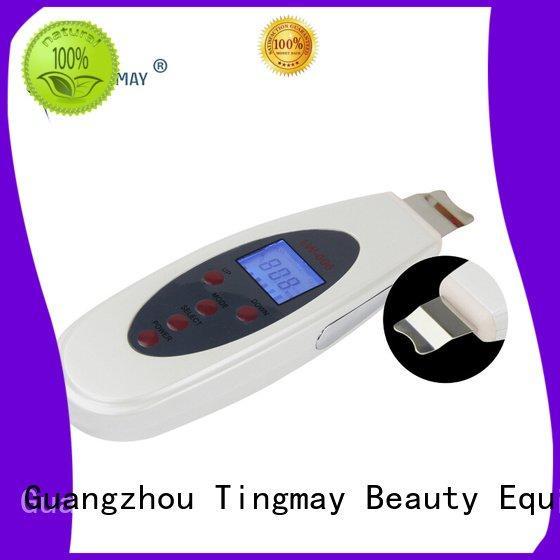 needle portable ultrasonic skin scrubber spatula Tingmay