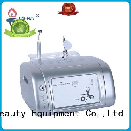 Hot oxygen infusion skin care beauty machine galvanic oxygen infusion facial machine wrinkle Tingmay