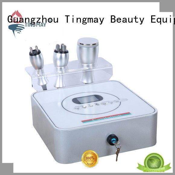 Tingmay Brand rf frequency vibration cavitation rf vacuum slimming machine machine