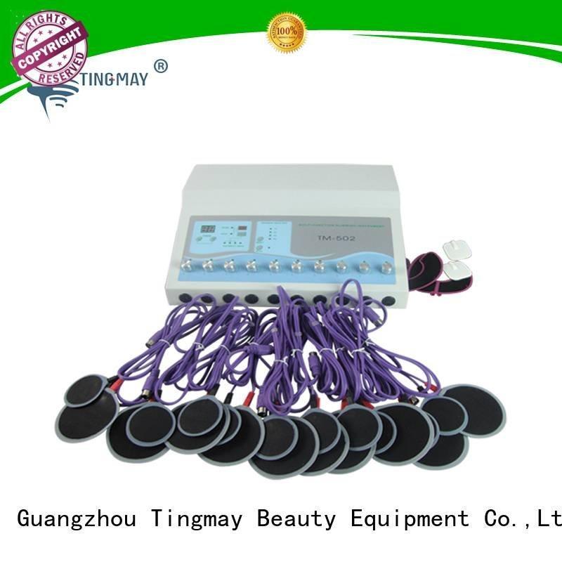Tingmay Brand russian e stimulation machine fat hifu