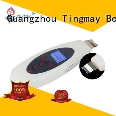 home dermaroller Tingmay ultrasonic skin scrubber