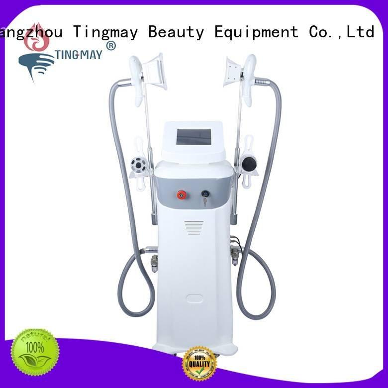 Tingmay cavitation face cryolipolysis body massage machine for weight loss slimming