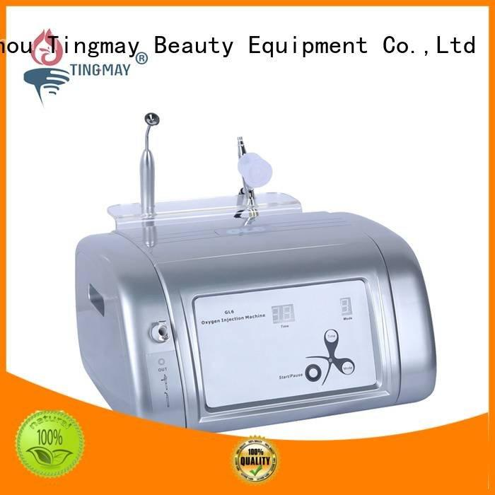 Custom galvanic oxygen infusion facial machine cupping oxygen infusion skin care beauty machine