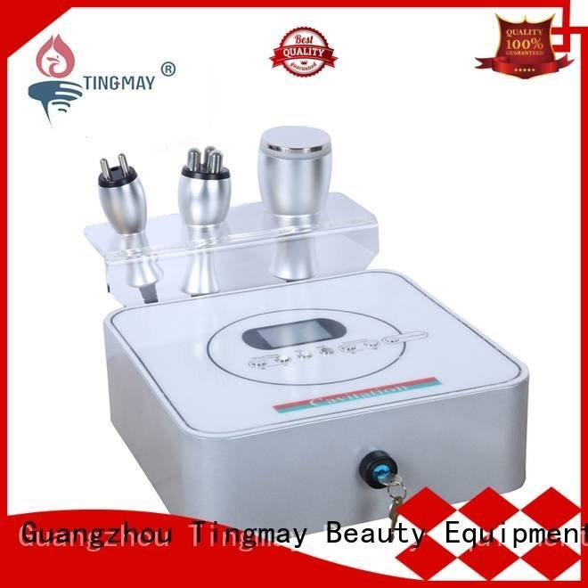 face vacuum slimming cavitation rf vacuum slimming machine Tingmay