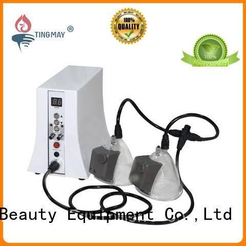 oxygen infusion skin care beauty machine cupping Tingmay Brand oxygen infusion facial machine
