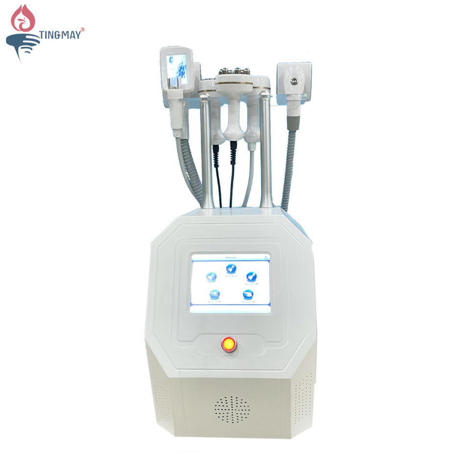 Multifunctional Vacuum Roller 40K Ultrasonic Cavitation Radio Frequency Slimming Machine