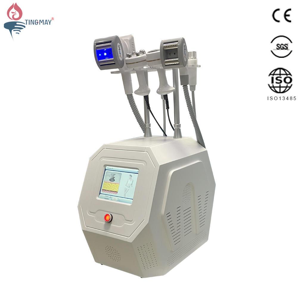 Multifunctional Vacuum Roller 40K Ultrasonic Cavitation Radio Frequency Slimming Machine