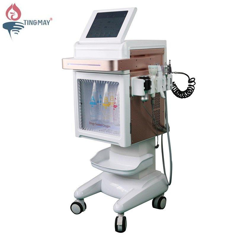vacuum facial cleanner machine water facial cleansing machine