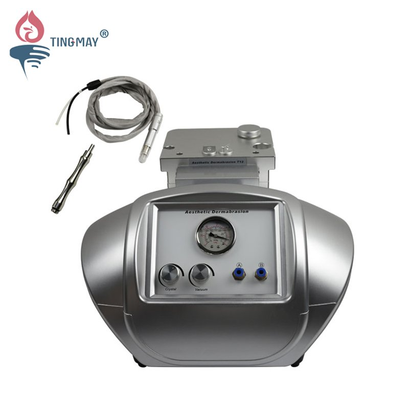 Tingmay 2 in 1 Crystal  & diamond micro dermabrasion facial skin rejuvenation  machine TM-T12 Microdermabrasion machine image16