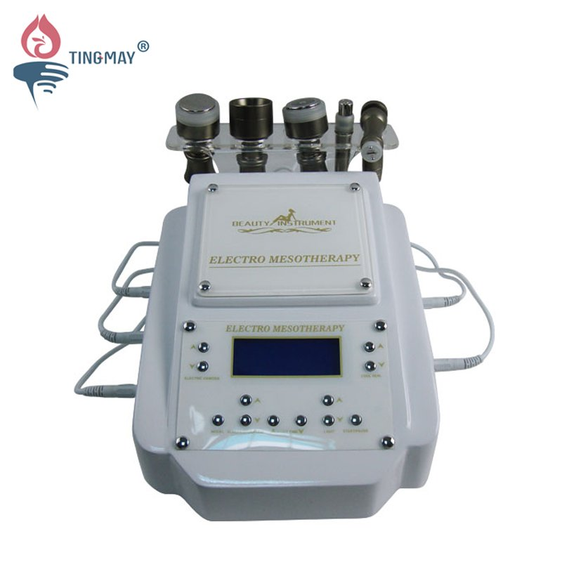 Tingmay multifunction electroporation mesotherapy with LED light for skin rejuvenation TM-664 Mesotherapy machine image6