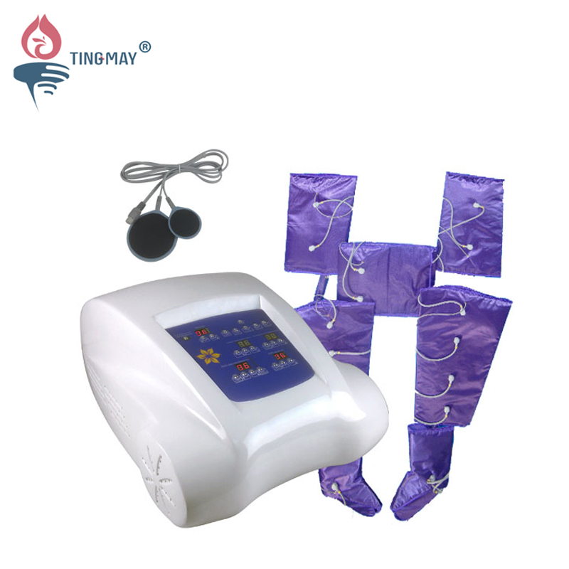 Tingmay far infrared pressotherapy slimming machine with EMS TM-B32 Infrared Pressotherapy machine image9