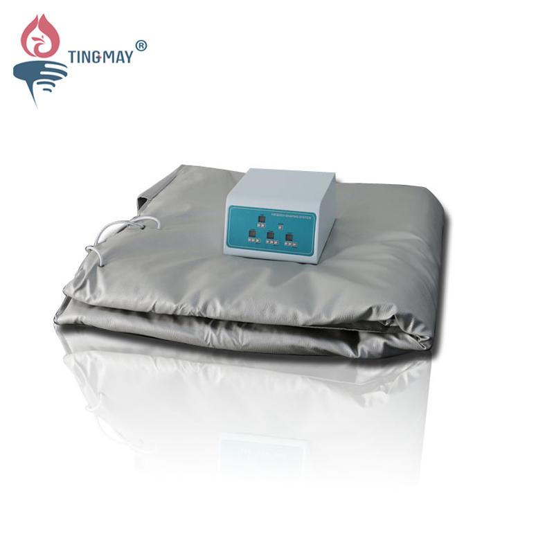 Far infrared 3 heating zones sauna slimming blanket TM-4049