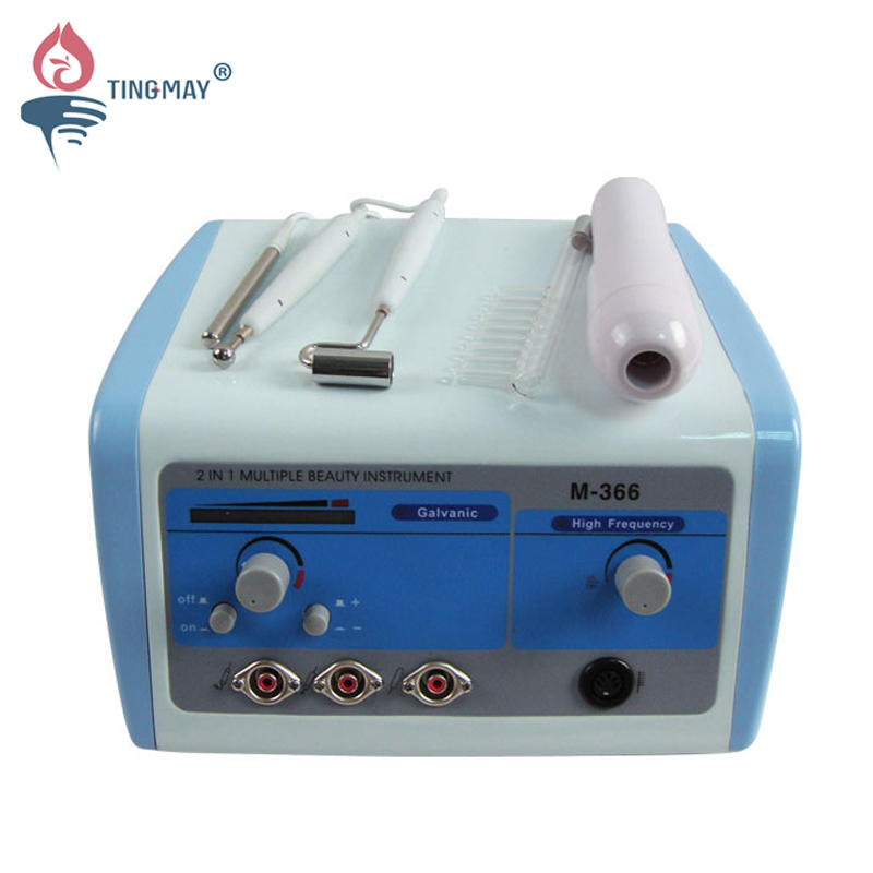 2 in 1 high frequency and galvanic machine TM-366
