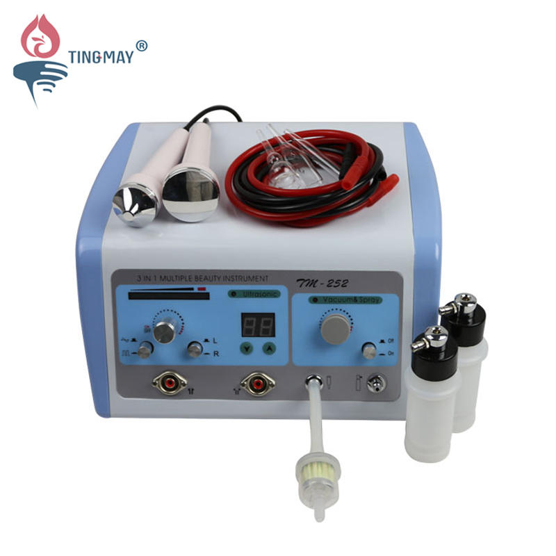 3 in 1 vacuum spray ultrasound therapy beauty device TM-252
