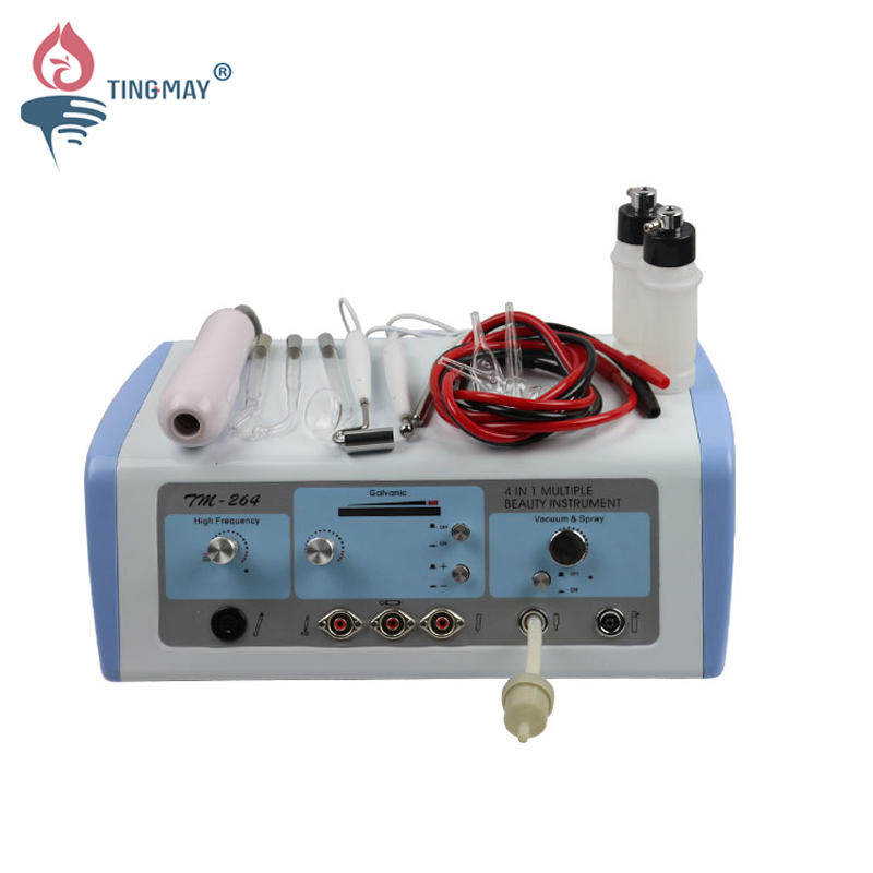4 In 1 Multiple Galvanic vacuum high frequency Beauty Instrument  TM-264
