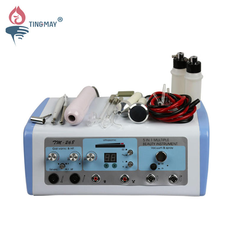5 in 1 ultrasonic galvanic multifunction beauty machine TM-268