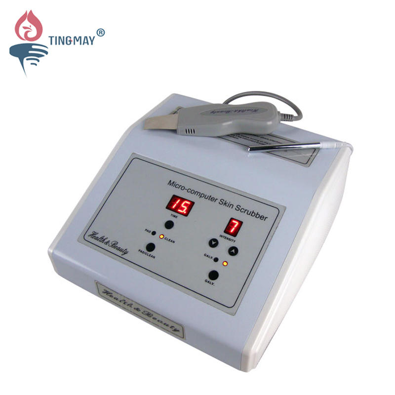 Professional ultrasonic skin scrubber facial spatula machine TM-504
