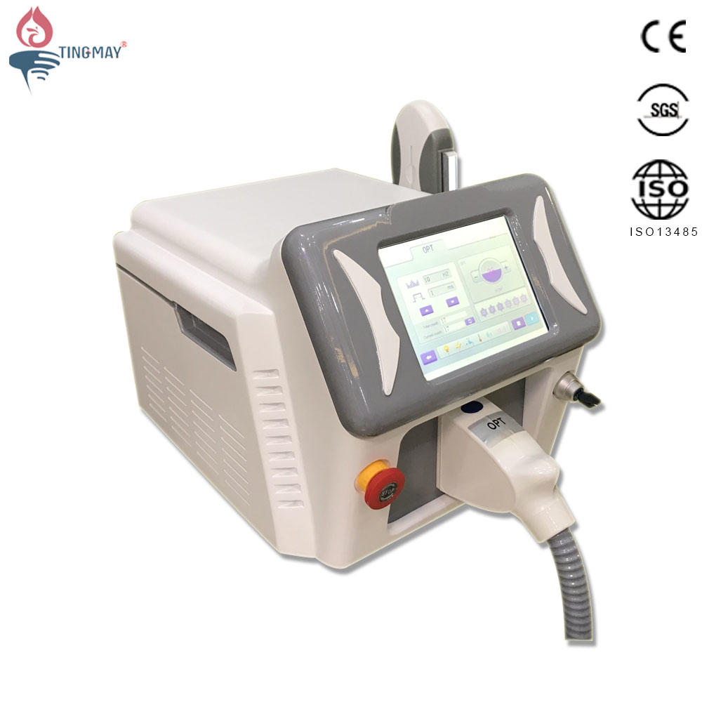 2019 E-light IPL hair removal OPT SHR hair removal skin rejuvenation machine
