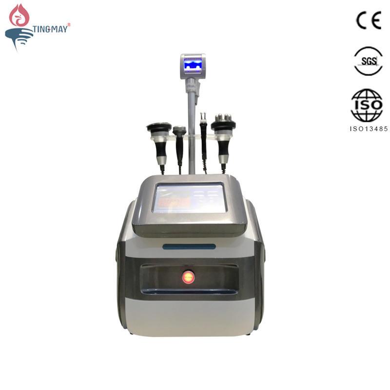 New arrival vacuum roller massage velashape cellulite slimming machine with cavitation and rf